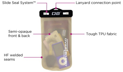 OverBoard Multipurpose Waterproof Case - Medium